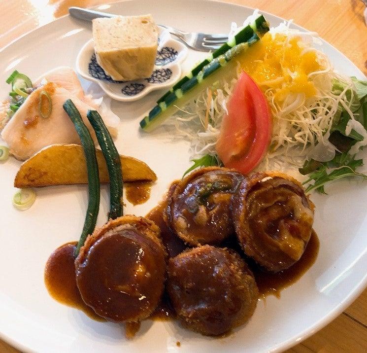 【食べ歩き】「洋食屋 自然」土日限定ランチ チーズを巻いた牛 ...