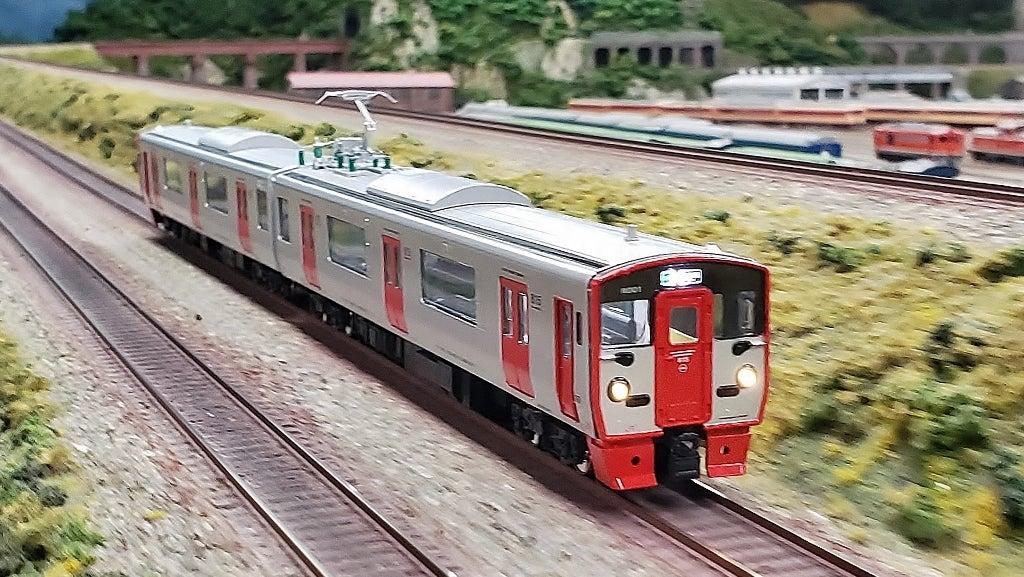 HOゲージのJR九州・815系電車   鉄道模型専門店 九州レイルウェイショップ