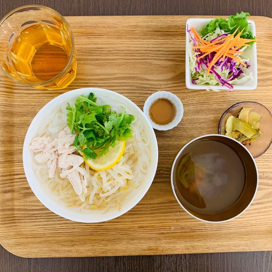 冷製フォー | 障がいを持った仲間と一緒に働くカフェ。会津 カフェ&デリ・マルク(CAFE&DELI・MARC)