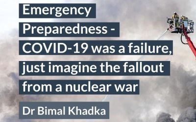 Emergency Preparedness ─ COVID-19 was a failure, just imagine the fallout from a nuclear war
