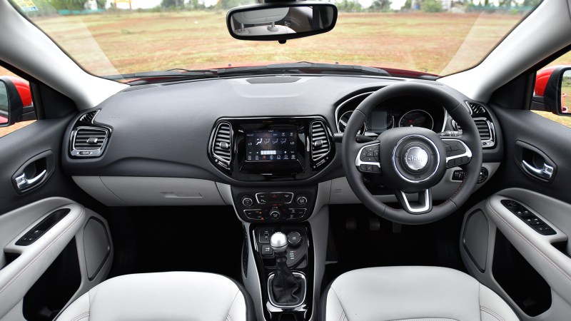 The Jeep Compass S Interior Looks Luxurious And Is Well Built However There Aren