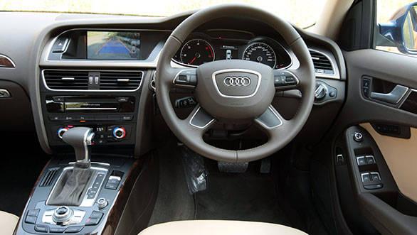Audi A4 Interior India