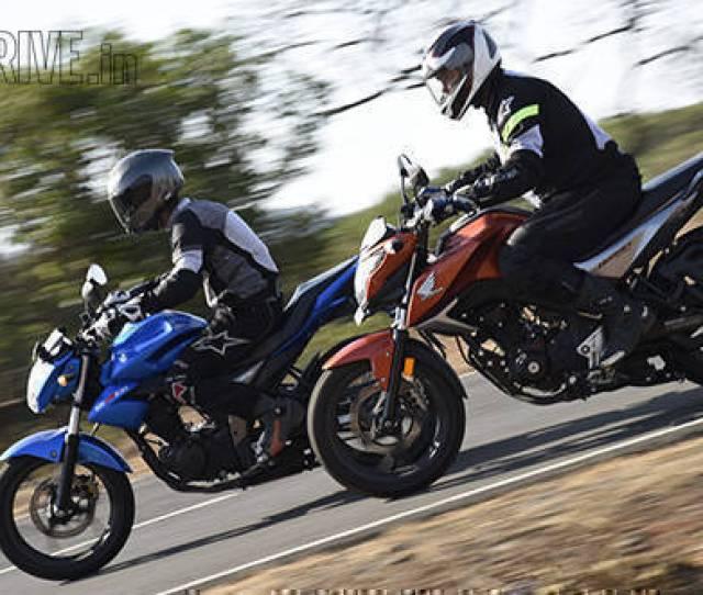 Comparo Honda Cb Hornet 160r Vs Suzuki Gixxer