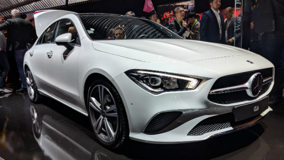 Image Gallery New Gen Mercedes Benz Cla At Ces 2019 Overdrive