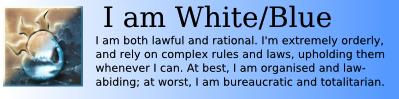 I am Blue/White