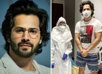 Varun Dhawan undergoes a COVID-19 test before resuming work, shares video : Bollywood News - Bollywood Hungama