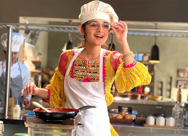 Kanika Mann uses her lockdown cooking skills while shooting for Guddan Tumse Na Ho Payega