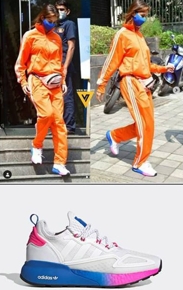 CELEBRITY SPOTTED Disha Patani, Shruti Haasan, Kiara Advani sport the new Adidas ZX 2K Boost sneakers in style