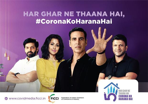 Akshay Kumar and three other prominent celebrites to feature in COVID-19 awareness campaign Corona Ko Harana Hai