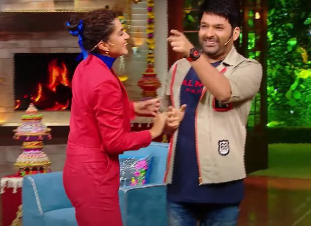 द कपिल शर्मा शो: तापसी पन्नू का कहना है कि कपिल शर्मा द्वारा उन्हें कई फिल्मों में एक एथलीट की भूमिका निभाने के लिए टीज़र के बाद उन्हें स्पोर्ट्स कोटे के तहत बॉलीवुड में प्रवेश मिला