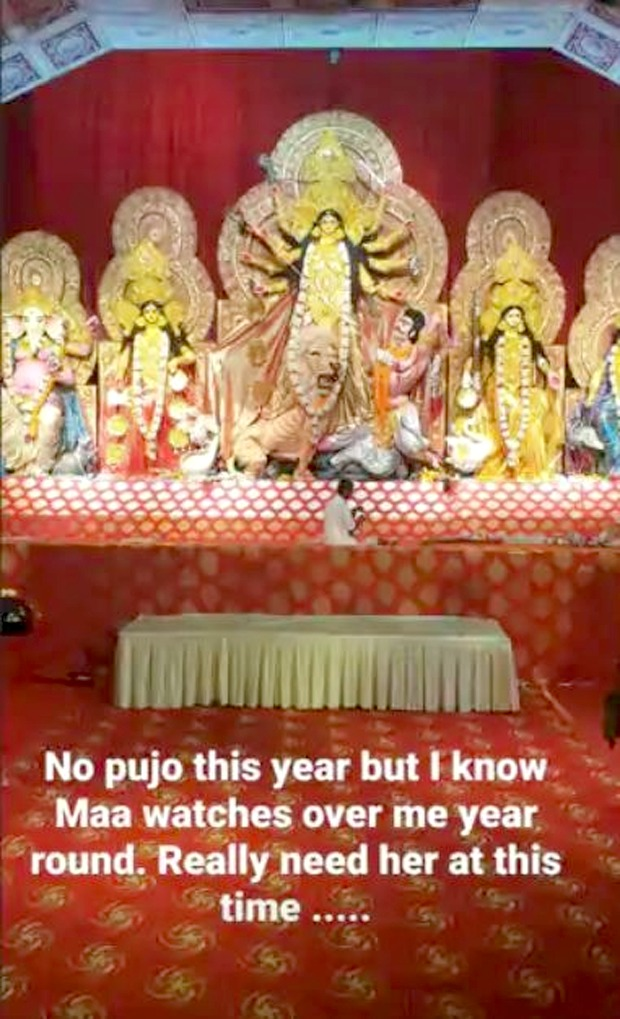 """Two days after Anil Devgan's demise, Kajol shares a picture of Durga maa; says """"Really need her at this time"""""""