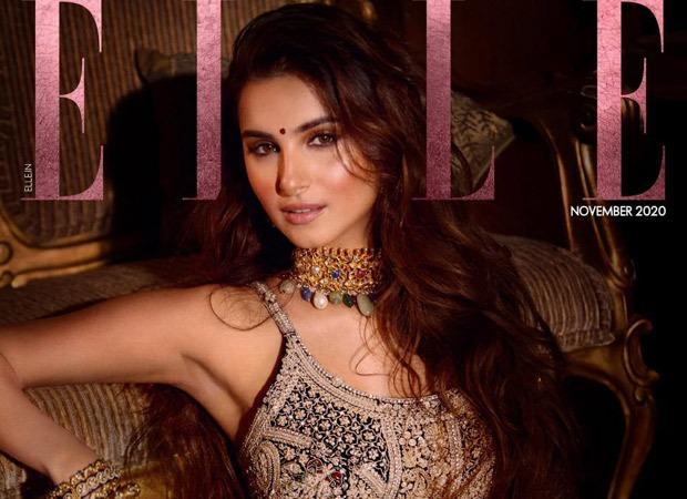 Tara Sutaria looks magnificent in regal lehenga on the cover of Elle India