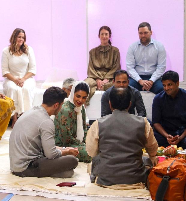 Priyanka Chopra performs puja with Nick Jonas for her New York restaurant Sona