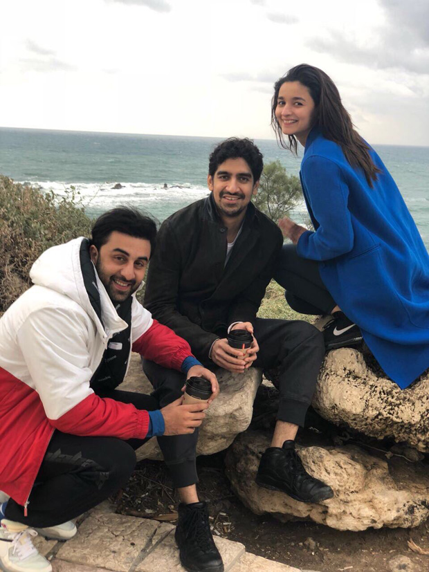 Check out Ranbir Kapoor, Alia Bhatt and Ayan Mukerji begin prep for Brahmastra in Israel