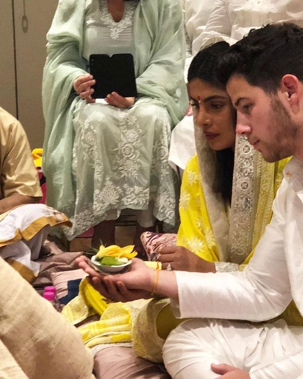 First Picture: Priyanka Chopra and Nick Jonas kick off their Roka ceremony