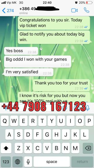 genuine fixed matches vip ticket