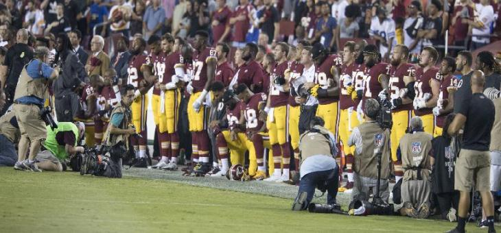 Athletes kneeling during the National Anthem? Majority of NY voters say First Amendment trumps disrespect
