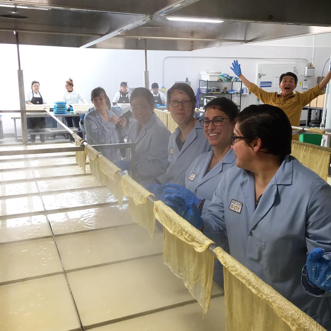 Team SBP Factory working the soy bean slaughterhouse yuba linehellip