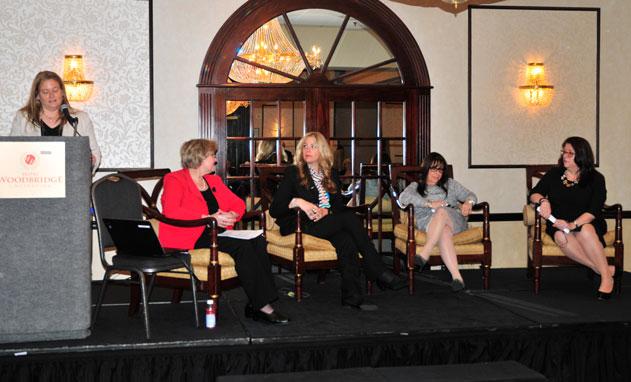 Panel at CREW New Jesrey seminar.