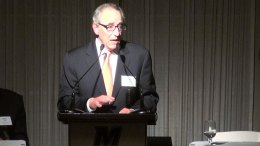 Murray Kushner speaking at the Kislak Real Estate Institute Dinner (State Broadcast News/Steve Lubetkin photo)