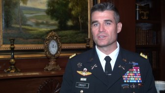 LTC Edward Croot, US Army Mid-Atlantic States Recruiting Battalion Commander