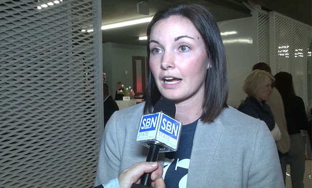 Jennifer Maher, CEO of 1776 coworking company, which just opened space in the Cherry Hill Mall