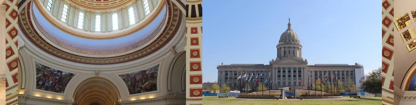 A Family Explores Oklahoma's State Capitol