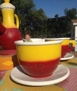 Trip enjoyed the tea cups