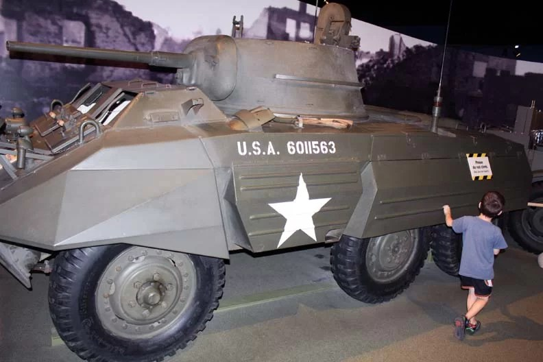 Minnesota produced armored vehicles for WW2.