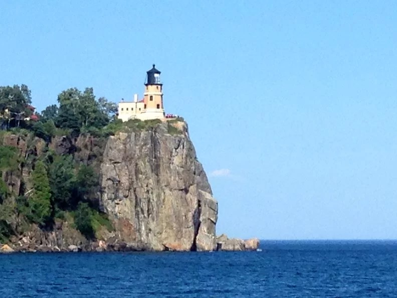 Split Rock lighthouse is an important historic site.