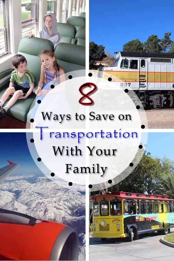 Planning a Family Vacation: 8 Ways to Save on Transportation Pin2