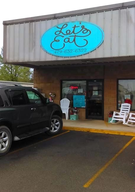 Let's Eat is a family owned restaurant in Arkansas that we love.
