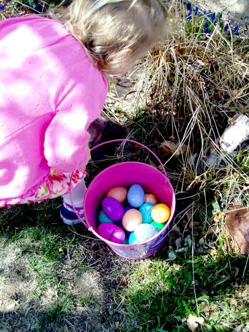 An Easter Bucket: Easter Ideas for the Full-time RV Life.