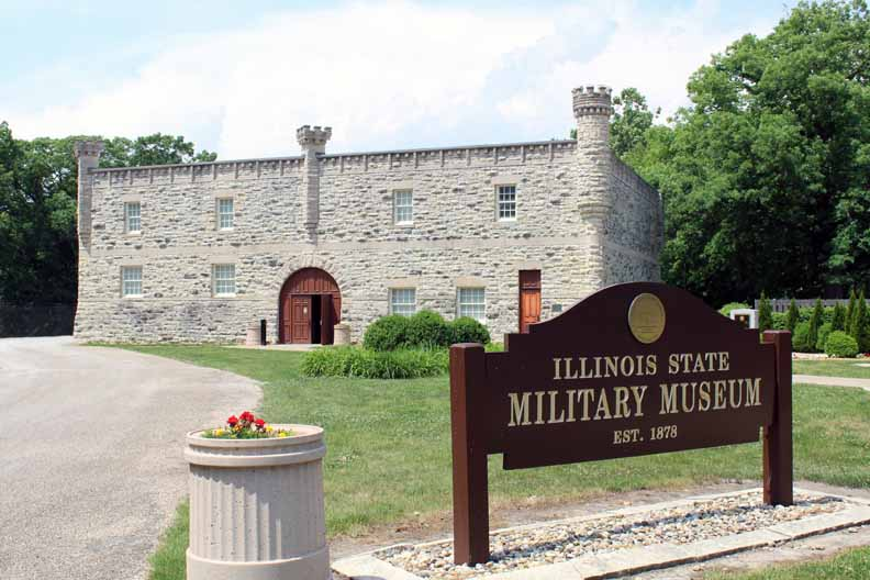 The Military Museum looks like a castle.