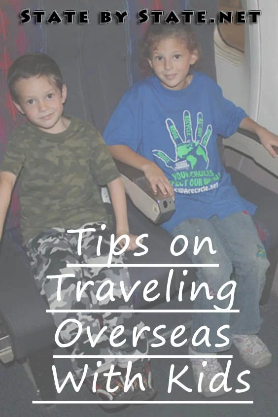 Tips on Traveling Overseas With Kids