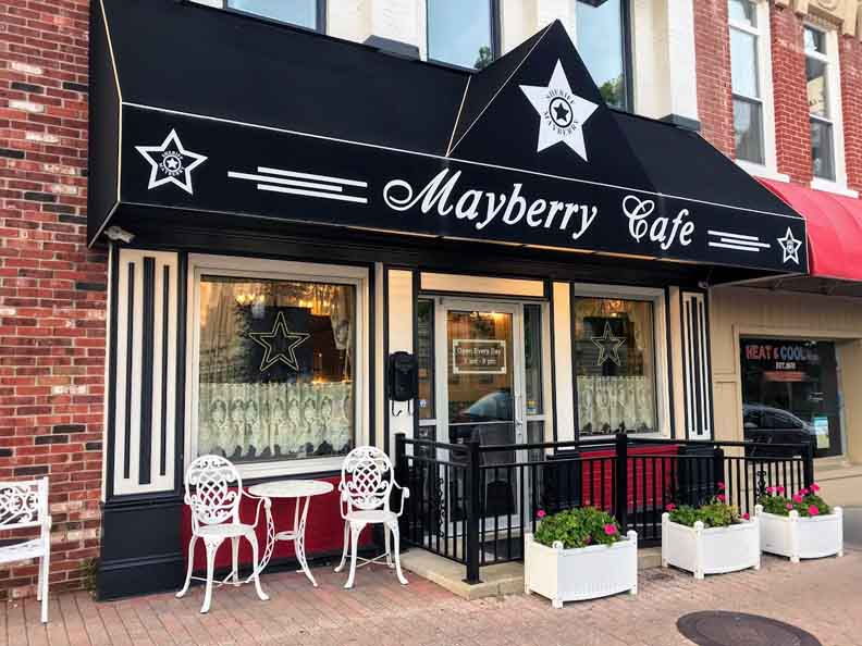 The Mayberry Cafe in Danville.