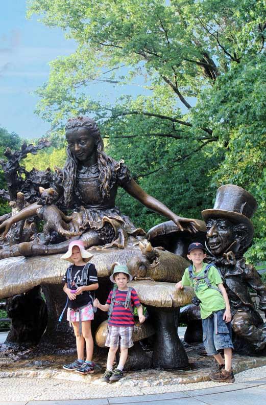 Kids in Central Park New York  City