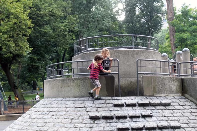 Kids playing in Central Park