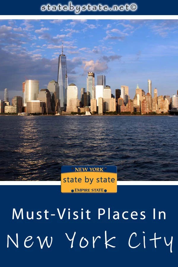 Must-Visit Places in New York City pin