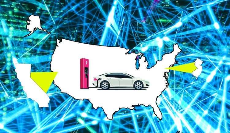Electric Vehicles in 2020: NJ and CA