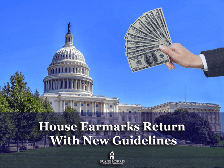 house earmarks are coming back