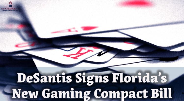 DeSantis Signs Florida's New Gaming Compact Bill