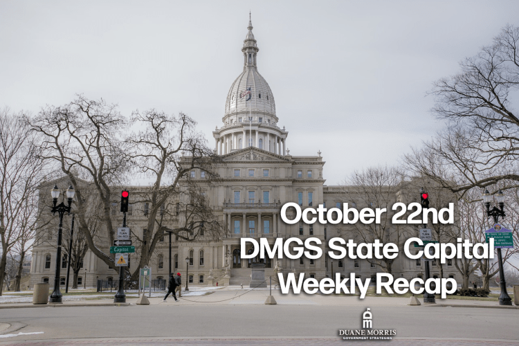 October 22nd DMGS State Capital Weekly Recap: Special Sessions Dominate and Delaware Bans Ghost Guns