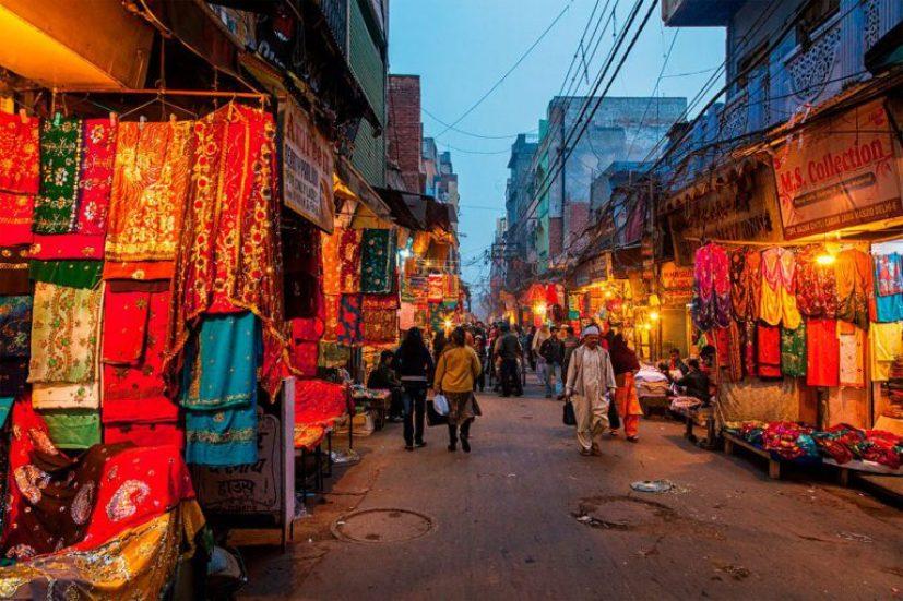 New Delhi shopping