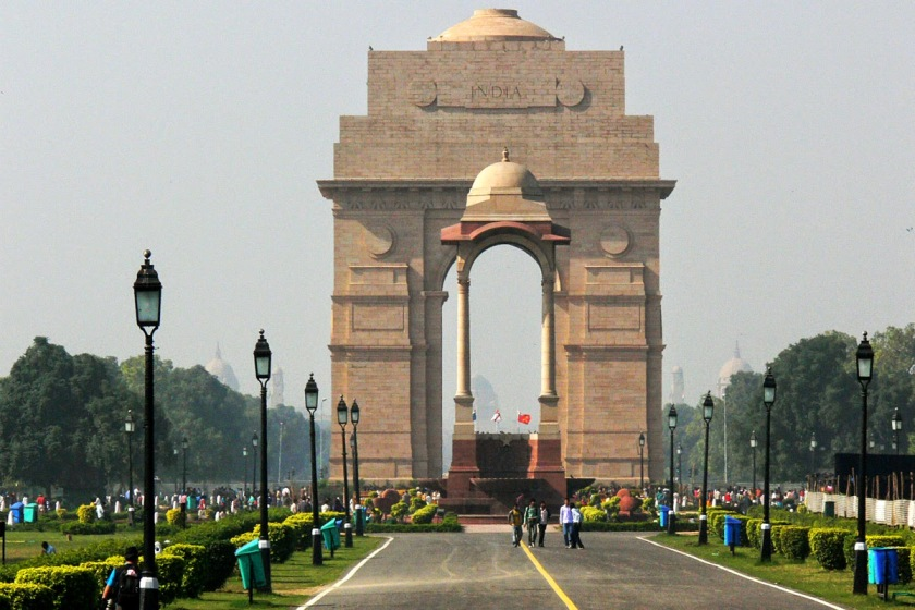 Delhi India Gate - India Tour
