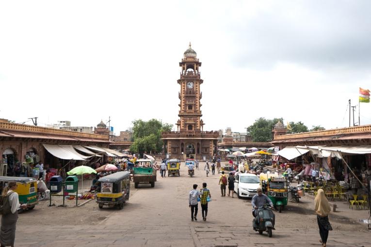 Clock Tower Market Jodhpur - Rajasthan Tour