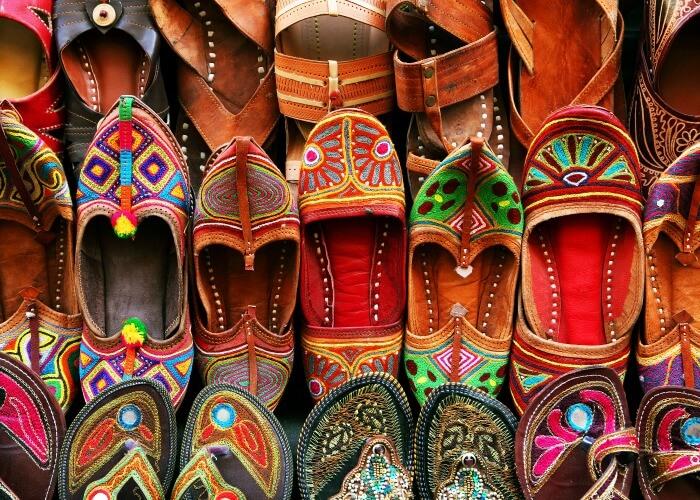 Mochi Bazar, Jodhpur - Rajasthan Tours India