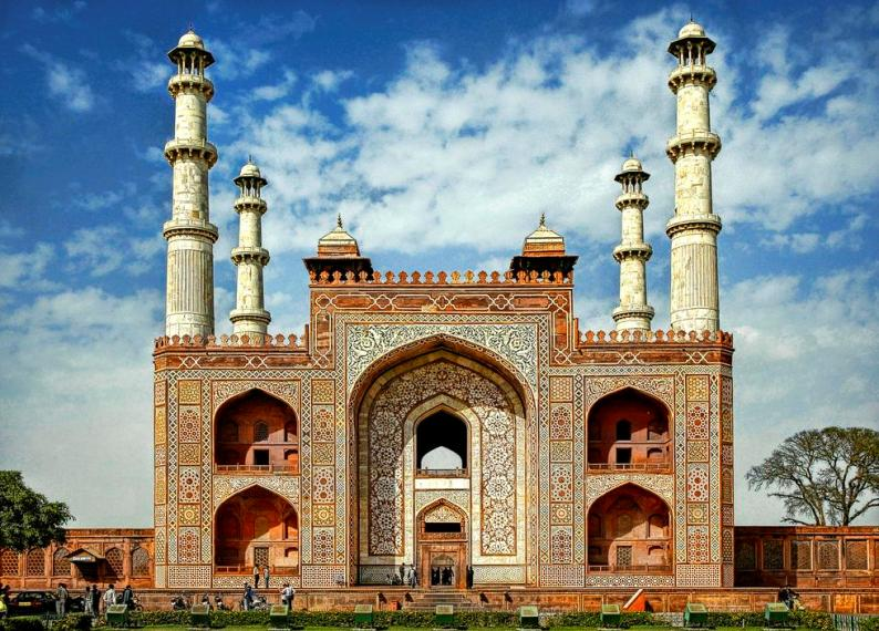 Image result for akbars tomb lovers point