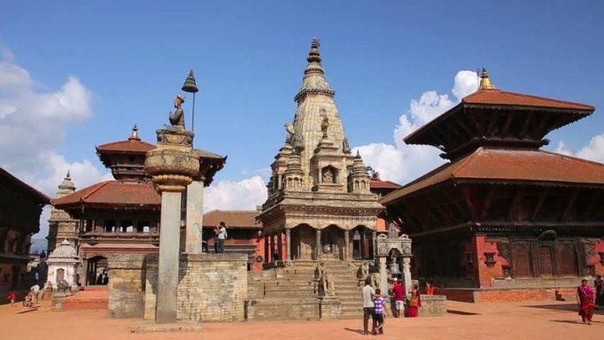 Bhaktapur Temple City in Nepal