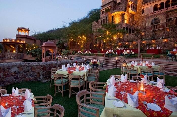 Neemrana Fort Palace in Jaipur for Wedding